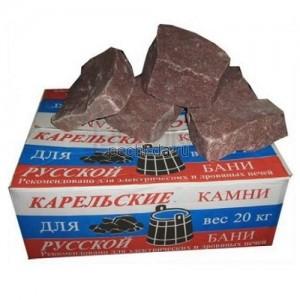 Малиновый Кварцит - камни для бани и сауны