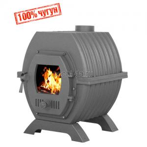 Чугунная отопительная печь Везувий Триумф 180 Т/О